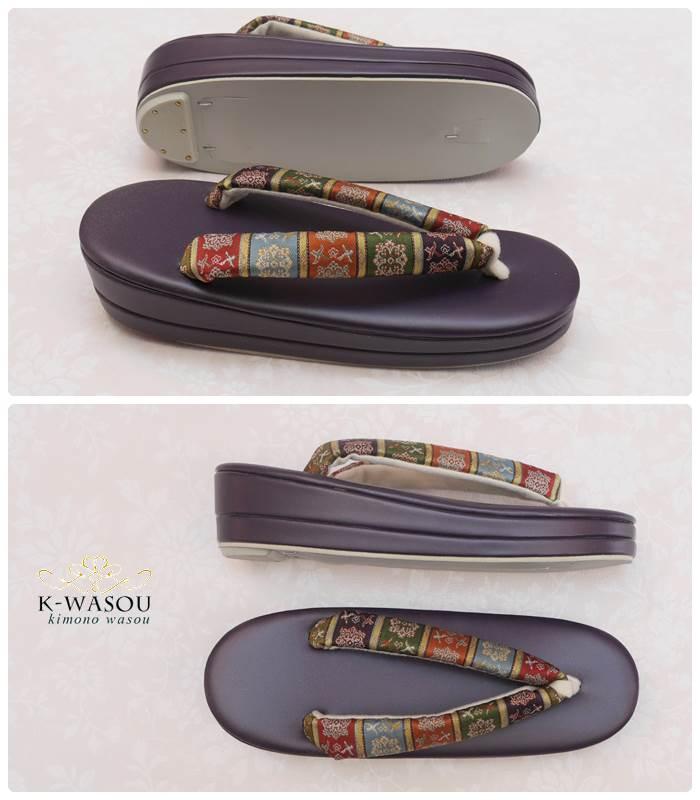 龍村美術織物 高級草履 単品