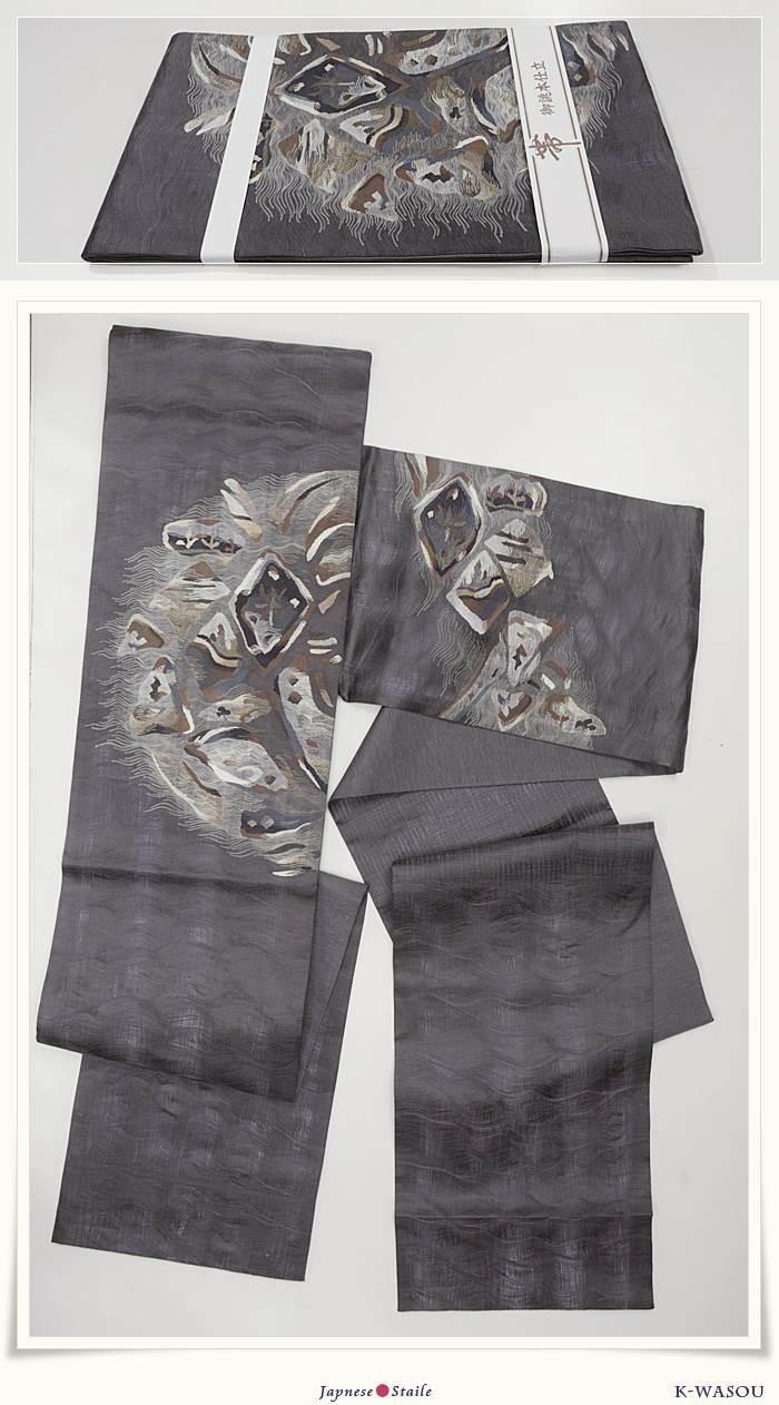 リサイクルすくい織り 夏袋帯